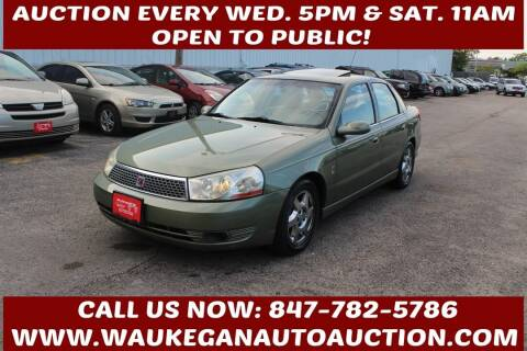 2003 Saturn L-Series for sale at Waukegan Auto Auction in Waukegan IL