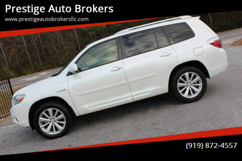 2009 Toyota Highlander Hybrid for sale at Prestige Auto Brokers in Raleigh NC