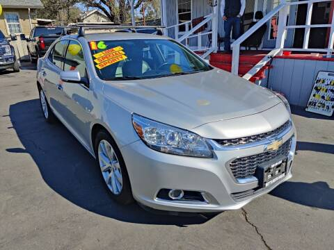 2016 Chevrolet Malibu Limited for sale at Rey's Auto Sales in Stockton CA