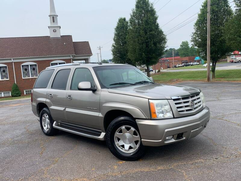 2003 Cadillac Escalade for sale at Mike's Wholesale Cars in Newton NC