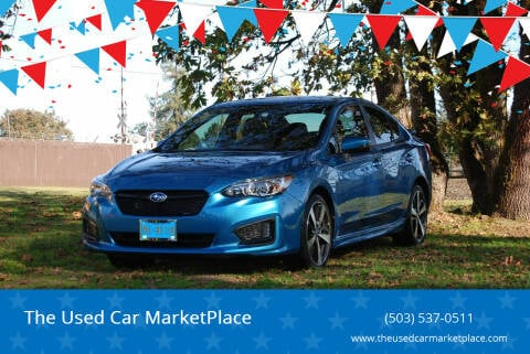 2019 Subaru Impreza for sale at The Used Car MarketPlace in Newberg OR