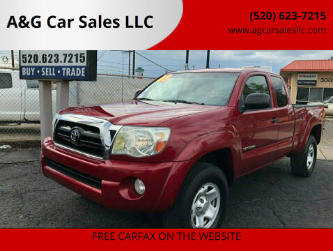 2005 Toyota Tacoma for sale at A&G Car Sales  LLC in Tucson AZ