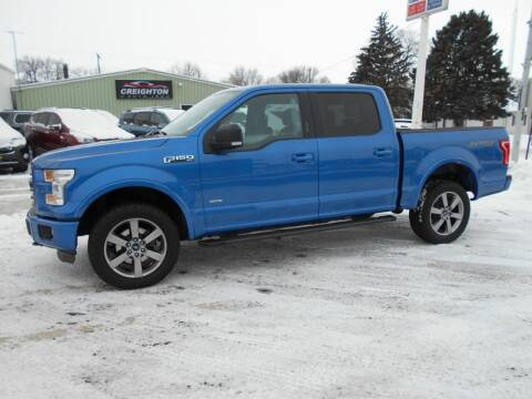 2015 Ford F-150 for sale at Creighton Auto & Body Shop in Creighton NE