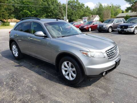 2005 Infiniti FX35 for sale at Motorsports Motors LLC in Youngstown OH