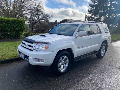 2005 Toyota 4Runner for sale at Washington Auto Loan House in Seattle WA