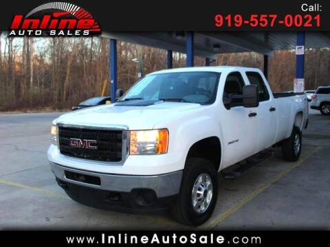 2013 GMC Sierra 3500HD for sale at Inline Auto Sales in Fuquay Varina NC
