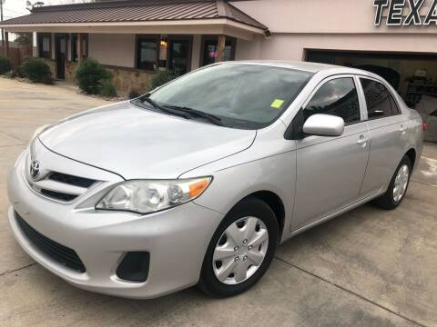 2013 Toyota Corolla for sale at Texas Auto Broker in Killeen TX