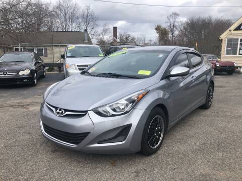2016 Hyundai Elantra for sale at Auto Gallery in Taunton MA