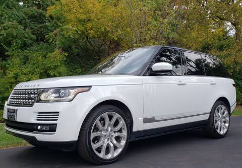 2015 Land Rover Range Rover for sale at The Motor Collection in Columbus OH