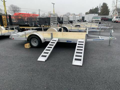 2020 MISSION 7X14 ATV  ALUMINUM for sale at Smart Choice 61 Trailers in Shoemakersville PA