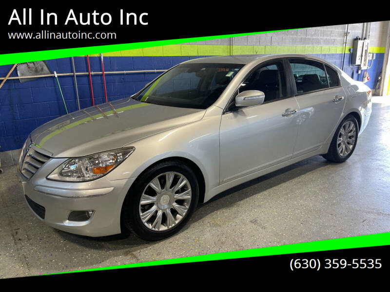 2010 Hyundai Genesis for sale at All In Auto Inc in Palatine IL