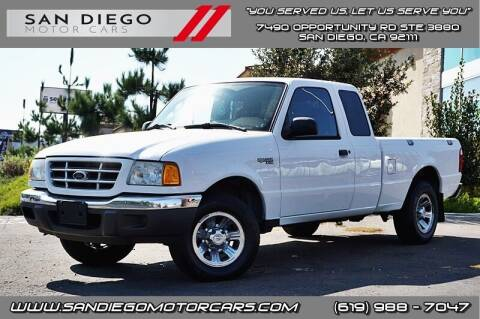 2003 Ford Ranger for sale at San Diego Motor Cars LLC in San Diego CA
