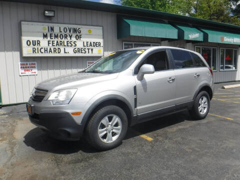 2008 Saturn Vue for sale at GRESTY AUTO SALES in Loves Park IL