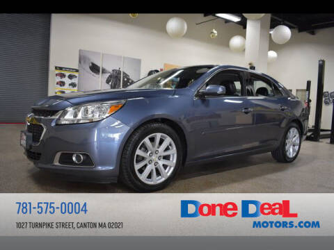 2014 Chevrolet Malibu for sale at DONE DEAL MOTORS in Canton MA