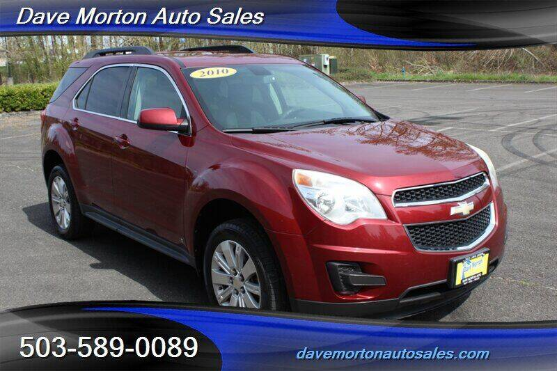 2010 Chevrolet Equinox for sale at Dave Morton Auto Sales in Salem OR