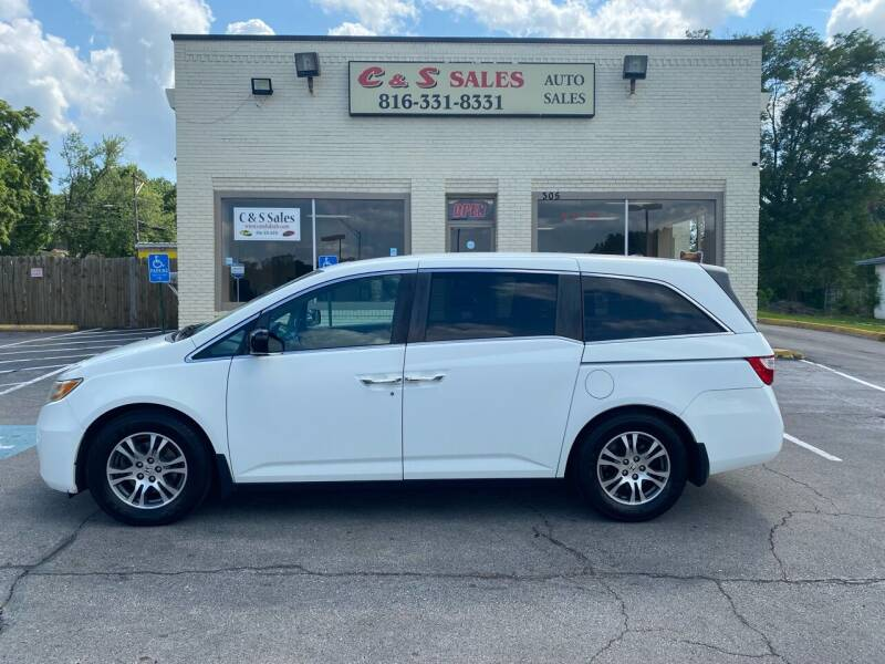 2011 Honda Odyssey for sale at C & S SALES in Belton MO