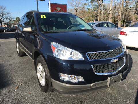 2011 Chevrolet Traverse for sale at Dad's Auto Sales in Newport News VA