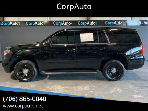 2015 Chevrolet Tahoe for sale at CorpAuto in Cleveland GA