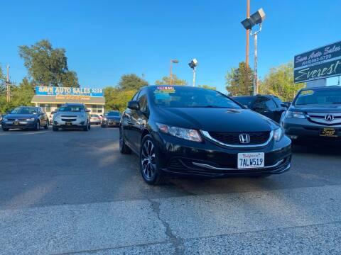 2013 Honda Civic for sale at Save Auto Sales in Sacramento CA