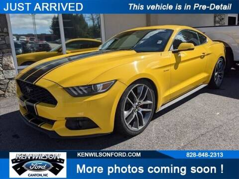 2015 Ford Mustang for sale at Ken Wilson Ford in Canton NC