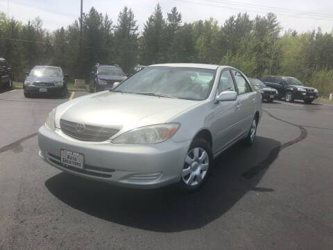 2003 Toyota Camry for sale at Lakes Area Auto Solutions in Baxter MN