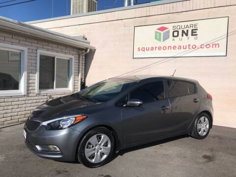 2016 Kia Forte5 for sale at SQUARE ONE AUTO LLC in Murray UT