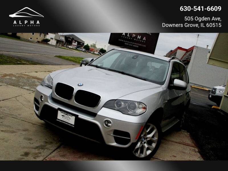 2013 BMW X5 for sale at Alpha Luxury Motors in Downers Grove IL
