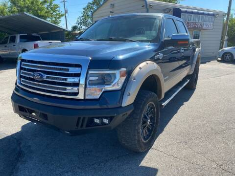 2014 Ford F-150 for sale at Silver Auto Partners in San Antonio TX
