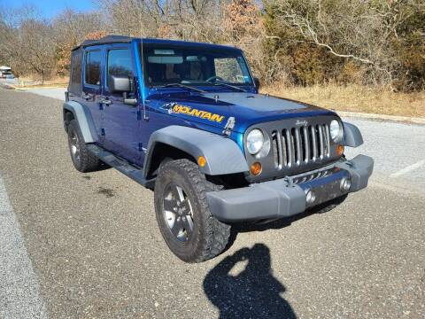 2010 Jeep Wrangler Unlimited for sale at Premium Auto Outlet Inc in Sewell NJ