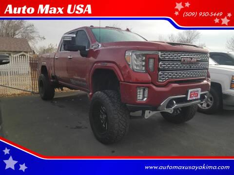 2020 GMC Sierra 2500HD for sale at Auto Max USA in Yakima WA