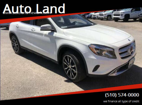 2017 Mercedes-Benz GLA for sale at Auto Land in Newark CA