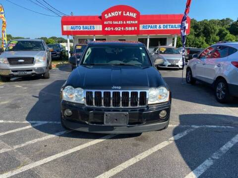 2005 Jeep Grand Cherokee for sale at Sandy Lane Auto Sales and Repair in Warwick RI