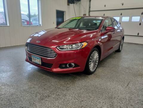 2016 Ford Fusion for sale at Sand's Auto Sales in Cambridge MN