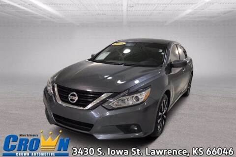 2018 Nissan Altima for sale at Crown Automotive of Lawrence Kansas in Lawrence KS
