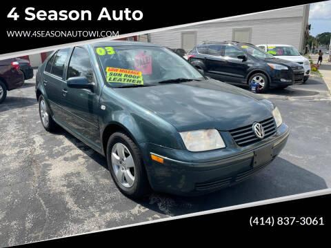 2003 Volkswagen Jetta for sale at 4 Season Auto in Milwaukee WI