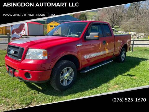2008 Ford F-150 for sale at ABINGDON AUTOMART LLC in Abingdon VA
