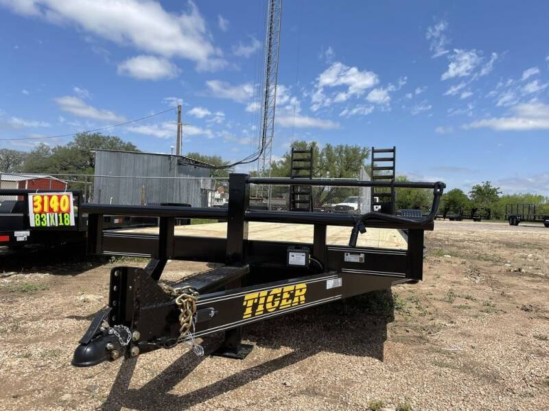 "2021 TIGER 83"" X 20'  CAR HAULER for sale at LJD Sales in Lampasas TX"