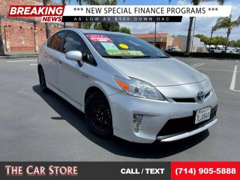 2015 Toyota Prius for sale at The Car Store in Santa Ana CA