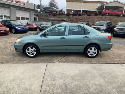 2005 Toyota Corolla for sale at State Line Motors in Bristol VA
