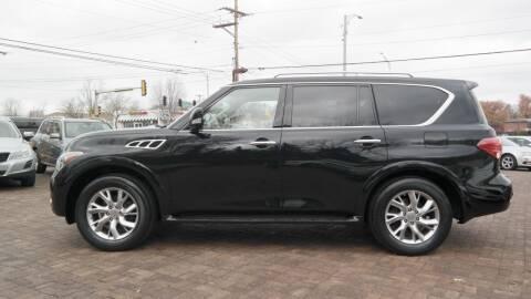 2012 Infiniti QX56 for sale at Cars-KC LLC in Overland Park KS
