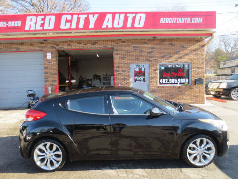 2012 Hyundai Veloster for sale at Red City  Auto in Omaha NE