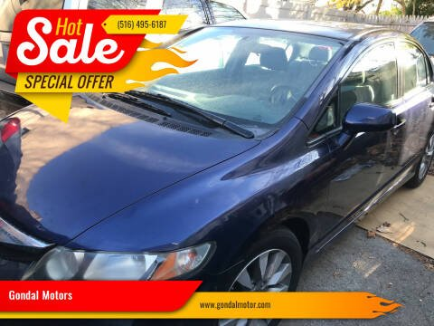 2011 Honda Civic for sale at Gondal Motors in West Hempstead NY