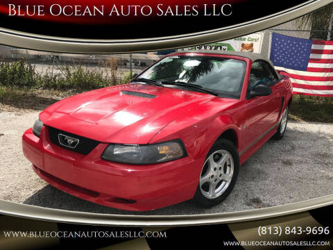 2002 Ford Mustang for sale at Blue Ocean Auto Sales LLC in Tampa FL