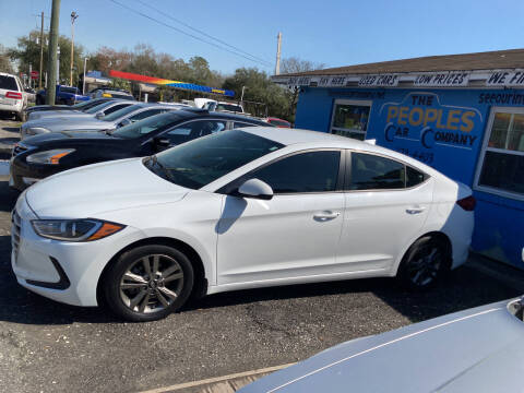 2017 Hyundai Elantra for sale at The Peoples Car Company in Jacksonville FL
