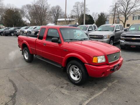 2002 Ford Ranger for sale at WILLIAMS AUTO SALES in Green Bay WI