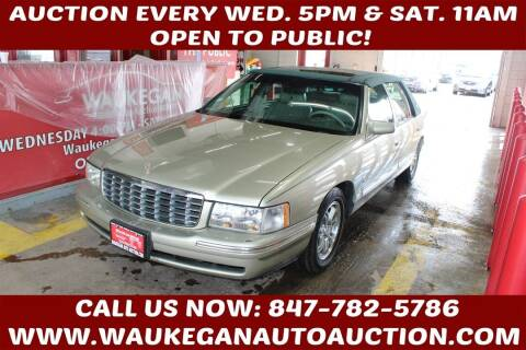 1997 Cadillac DeVille for sale at Waukegan Auto Auction in Waukegan IL