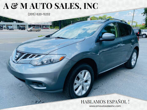 2013 Nissan Murano for sale at A & M Auto Sales, Inc in Alabaster AL