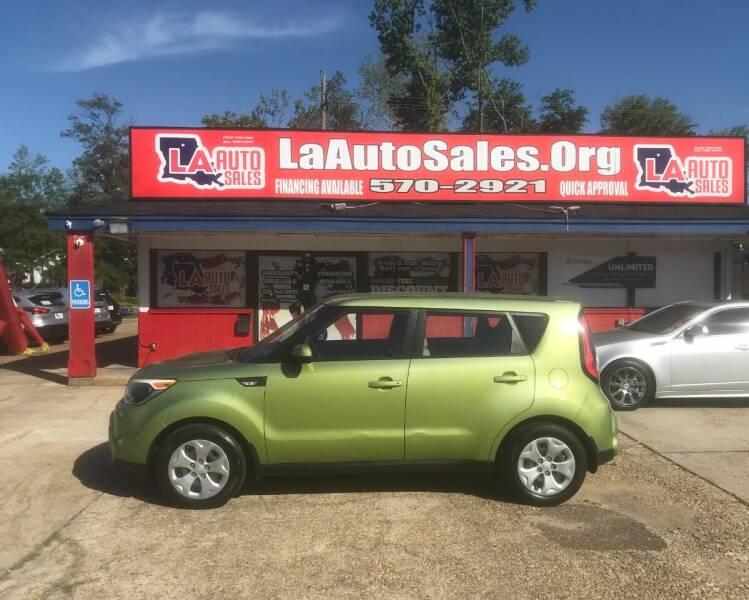 2014 Kia Soul for sale at LA Auto Sales in Monroe LA