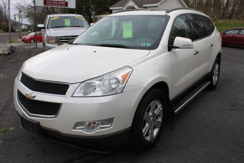 2011 Chevrolet Traverse for sale at Mayer Motors of Pennsburg - Green Lane in Green Lane PA