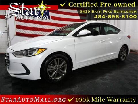 2018 Hyundai Elantra for sale at STAR AUTO MALL 512 in Bethlehem PA